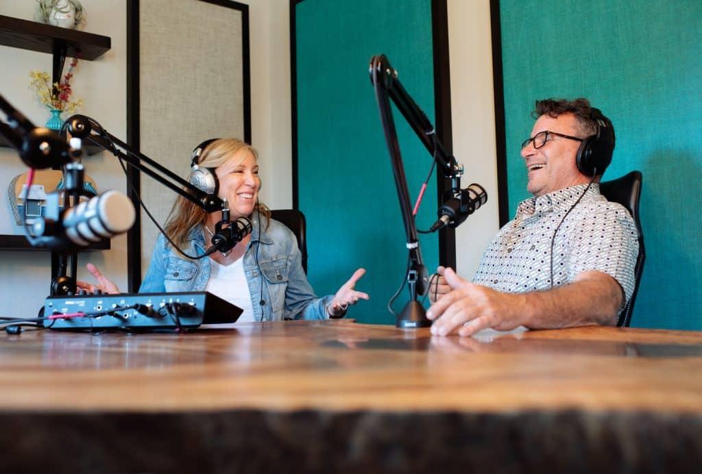 Kelly and Chris Pod Studio